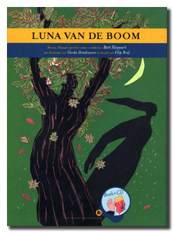 Luna van de boom