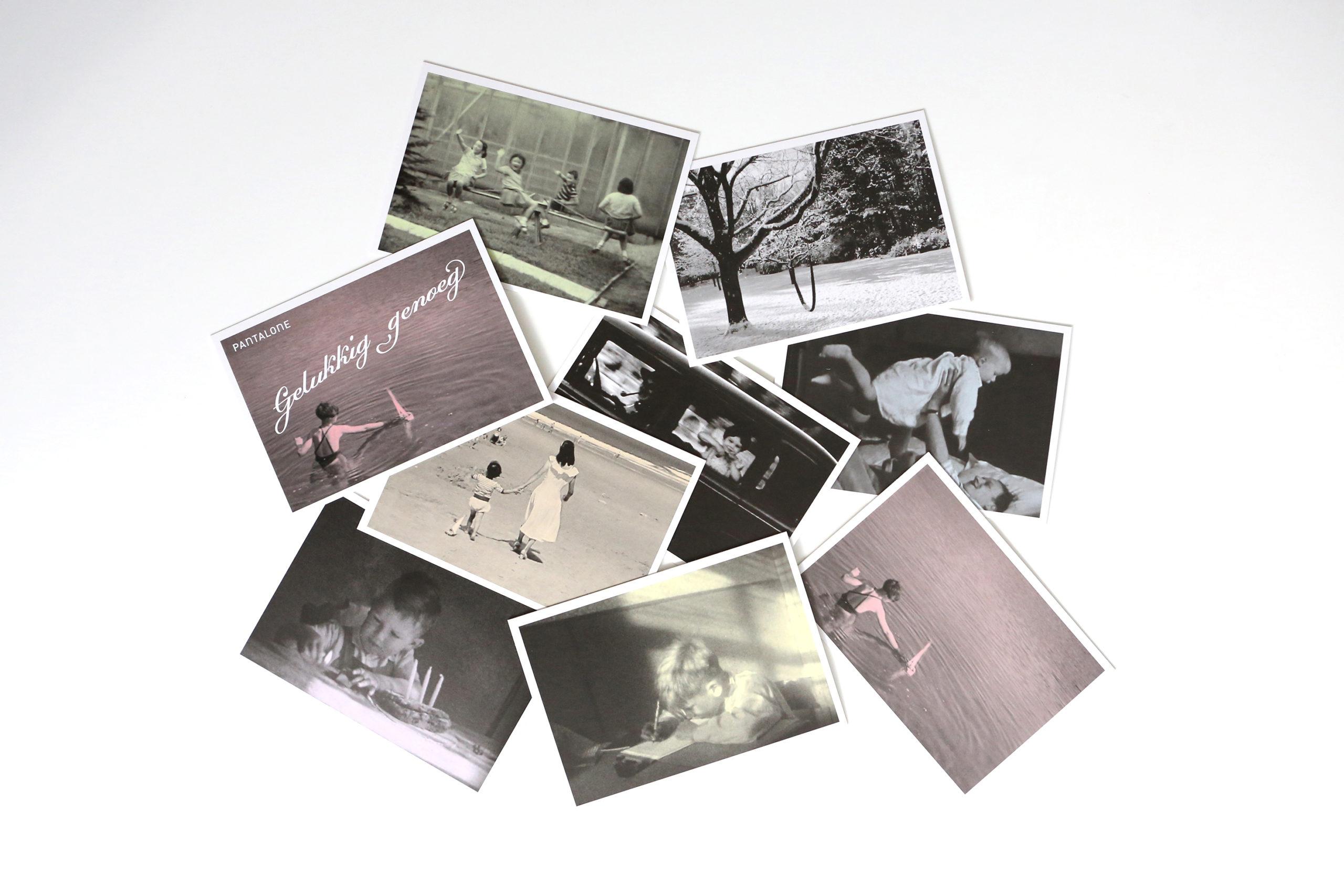 beeld van postkaarten
